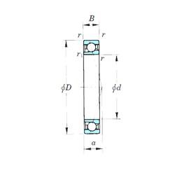 50 mm x 72 mm x 12 mm  KOYO 7910CPA angular contact ball bearings