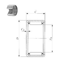 IKO TLAM 4020 needle roller bearings