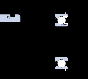 70 mm x 150 mm x 35 mm  SKF 314-ZNR deep groove ball bearings