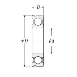 60 mm x 85 mm x 13 mm  CYSD 6912N deep groove ball bearings