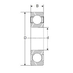 60 mm x 85 mm x 13 mm  SIGMA 61912 deep groove ball bearings