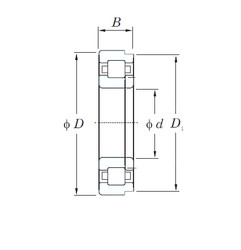 220 mm x 400 mm x 65 mm  KOYO NUP244 cylindrical roller bearings