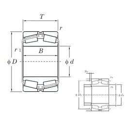240 mm x 360 mm x 92 mm  KOYO 45248 tapered roller bearings