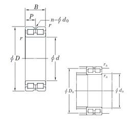 190 mm x 260 mm x 69 mm  KOYO DC4938AVW cylindrical roller bearings
