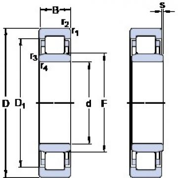 70 mm x 150 mm x 35 mm  SKF NU 314 ECP thrust ball bearings