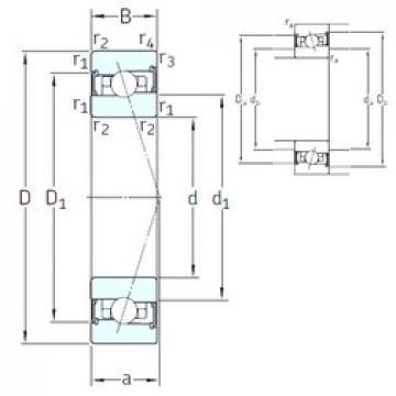 55 mm x 80 mm x 13 mm  SNFA HB55 /S 7CE1 angular contact ball bearings
