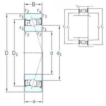 55 mm x 80 mm x 13 mm  SNFA HB55 /S/NS 7CE3 angular contact ball bearings