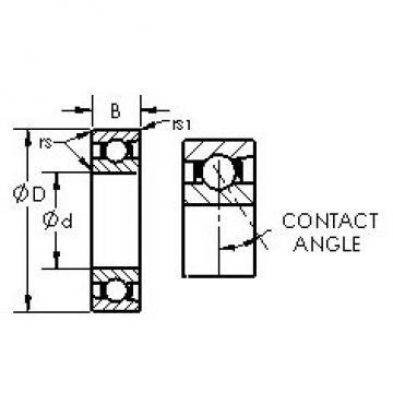 AST 71936AC angular contact ball bearings