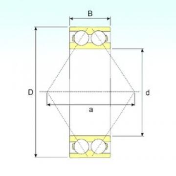 65 mm x 120 mm x 38,1 mm  CYSD 3213 angular contact ball bearings