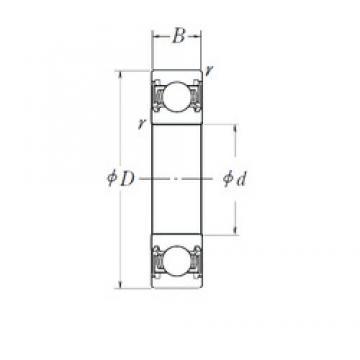 30 mm x 42 mm x 7 mm  NSK 6806DD deep groove ball bearings