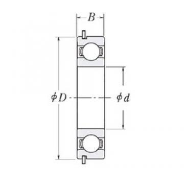 55 mm x 80 mm x 13 mm  CYSD 6911NR deep groove ball bearings