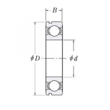 55 mm x 80 mm x 13 mm  CYSD 6911N deep groove ball bearings