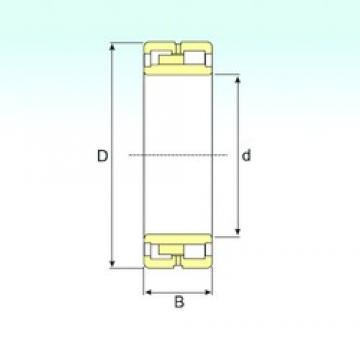 190 mm x 260 mm x 69 mm  ISB NNU 4938 K/SPW33 cylindrical roller bearings