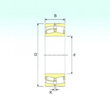 240 mm x 360 mm x 92 mm  ISB 23048 spherical roller bearings