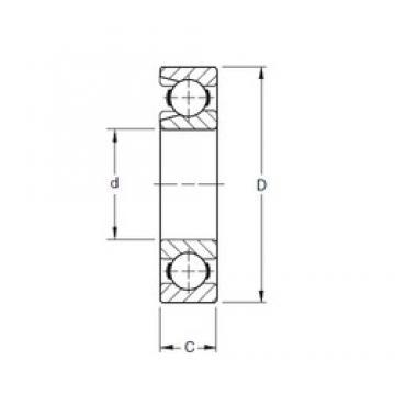 300 mm x 540 mm x 85 mm  Timken 260W deep groove ball bearings