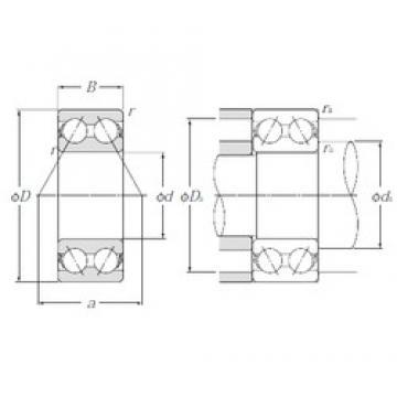 65 mm x 120 mm x 38,1 mm  NTN 5213S angular contact ball bearings