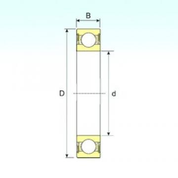 60 mm x 85 mm x 13 mm  ISB 61912-2RS deep groove ball bearings