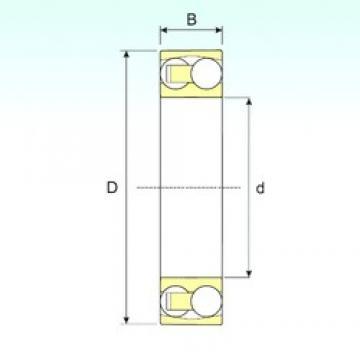 5 mm x 19 mm x 6 mm  ISB 135 TN9 self aligning ball bearings