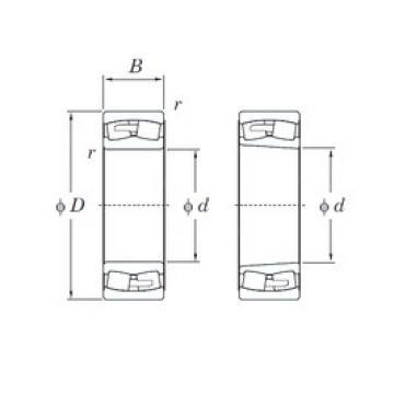 240 mm x 360 mm x 92 mm  KOYO 23048RHA spherical roller bearings