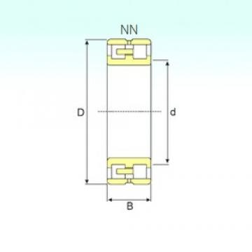 240 mm x 360 mm x 92 mm  ISB NN 3048 K/SPW33 cylindrical roller bearings