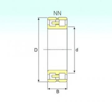 240 mm x 360 mm x 92 mm  ISB NN 3048 SPW33 cylindrical roller bearings