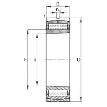 240 mm x 360 mm x 92 mm  FAG Z-565668.ZL-K-C5 cylindrical roller bearings