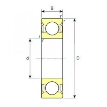 55 mm x 80 mm x 13 mm  ISB SS 61911-ZZ deep groove ball bearings