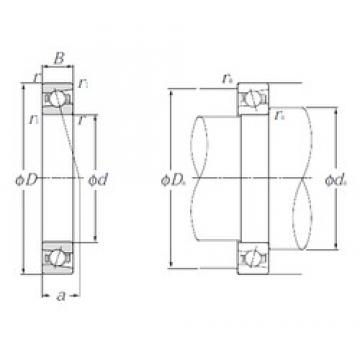 50 mm x 72 mm x 12 mm  NTN 5S-HSB910C angular contact ball bearings