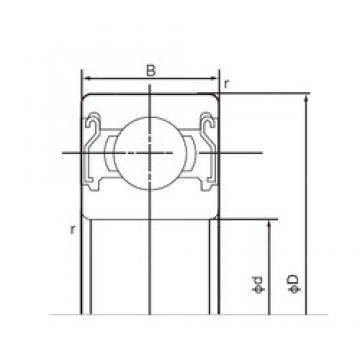 30 mm x 42 mm x 7 mm  NACHI 6806ZZE deep groove ball bearings