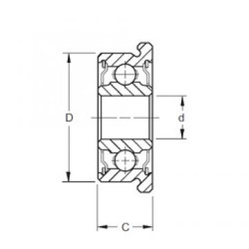 5 mm x 19 mm x 6 mm  ZEN SF635-2RS deep groove ball bearings