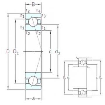 30 mm x 42 mm x 7 mm  SNFA SEA30 7CE1 angular contact ball bearings