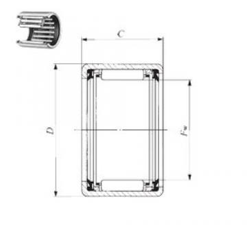 IKO TLA 4020 UU needle roller bearings