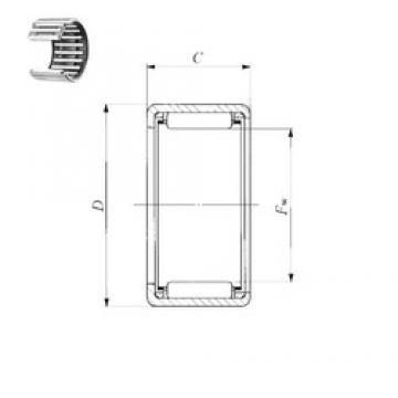IKO TLA 4020 Z needle roller bearings