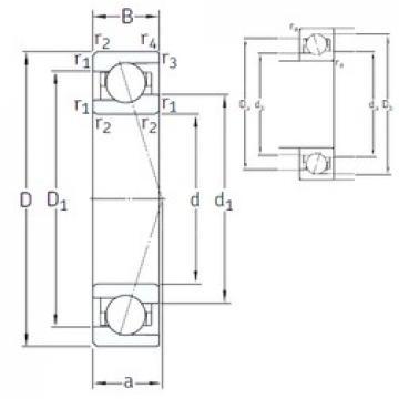 55 mm x 80 mm x 13 mm  SNFA VEB 55 /NS 7CE1 angular contact ball bearings
