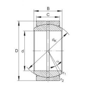 INA GE40-DO plain bearings