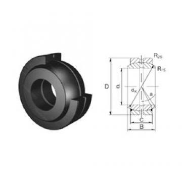 40 mm x 62 mm x 28 mm  ZEN GE40ES plain bearings