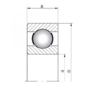 5 mm x 19 mm x 6 mm  Loyal 635 deep groove ball bearings