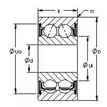 AST 5213ZZ angular contact ball bearings